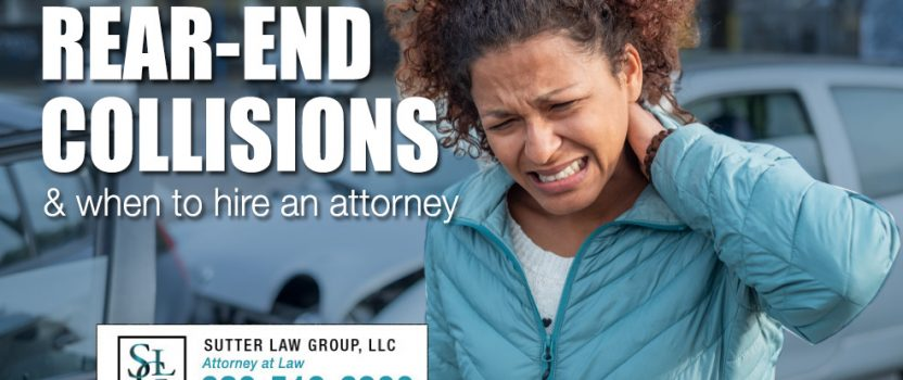 When to Hire a Personal Injury Attorney for a Rear-end Collision