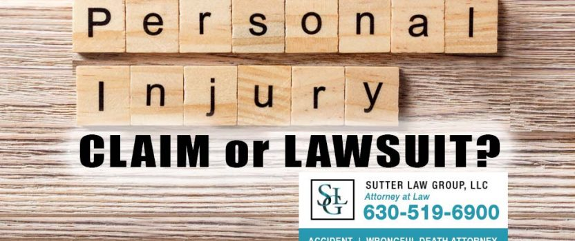 What Is the Difference Between a Personal Injury Claim and a Lawsuit?